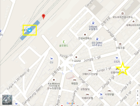 How to find it from the central Gangneung train station. More fun this way